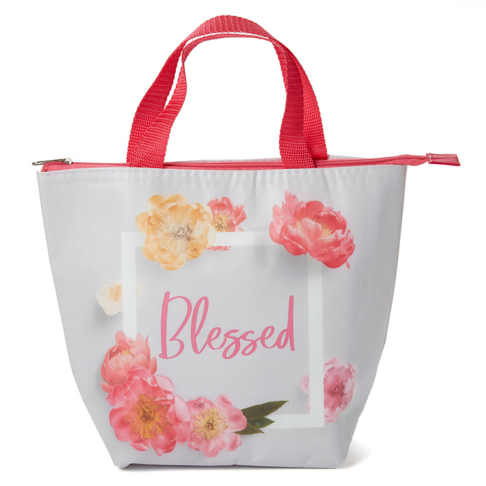 Insulated Lunch Tote - Blessed