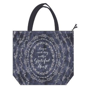 Insulated Lunch Tote - Grateful Heart