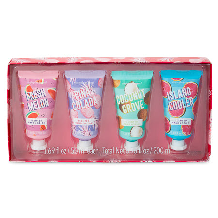 4 Piece Hand Lotion Set - Island Time
