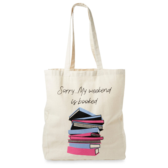 Cotton Tote - Sorry My Weekend Is Booked
