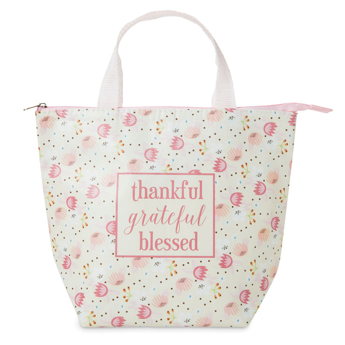 Insulated Lunch Tote - Thankful
