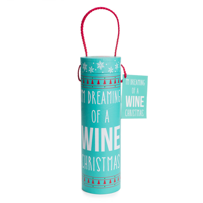 Dreaming of a Wine Christmas Wine Tube