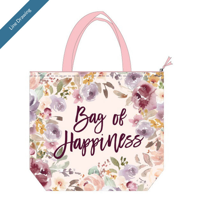Insulated Lunch Tote - Bag Of Happiness