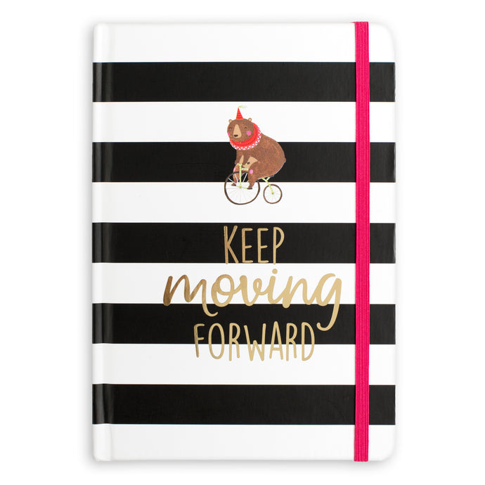 Keep Moving Forward Bound Journal