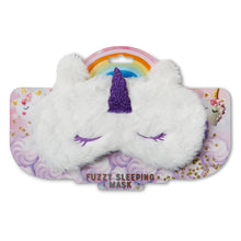 Load image into Gallery viewer, Kids Sleep Mask - Glitter Unicorn - Package