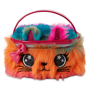 Kids Train Case - Rainbow Kitty