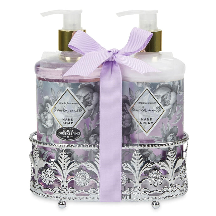 Soap & Lotion Caddy - Lavender Vanilla Scented