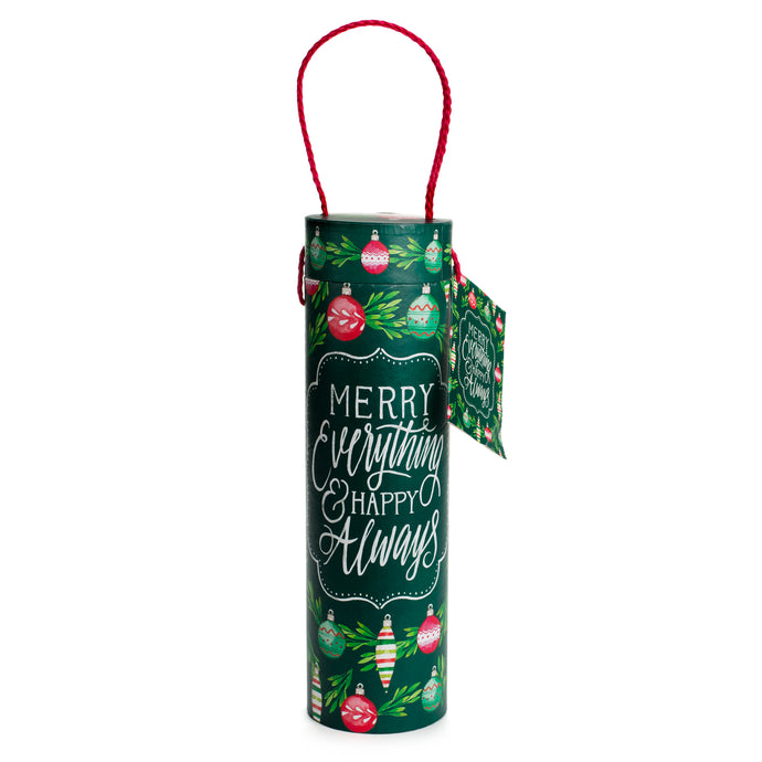Merry Everything Wine Tube