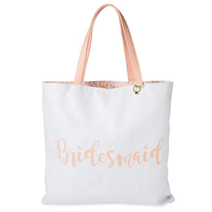 Reversible Canvas Tote - Bridesmaid