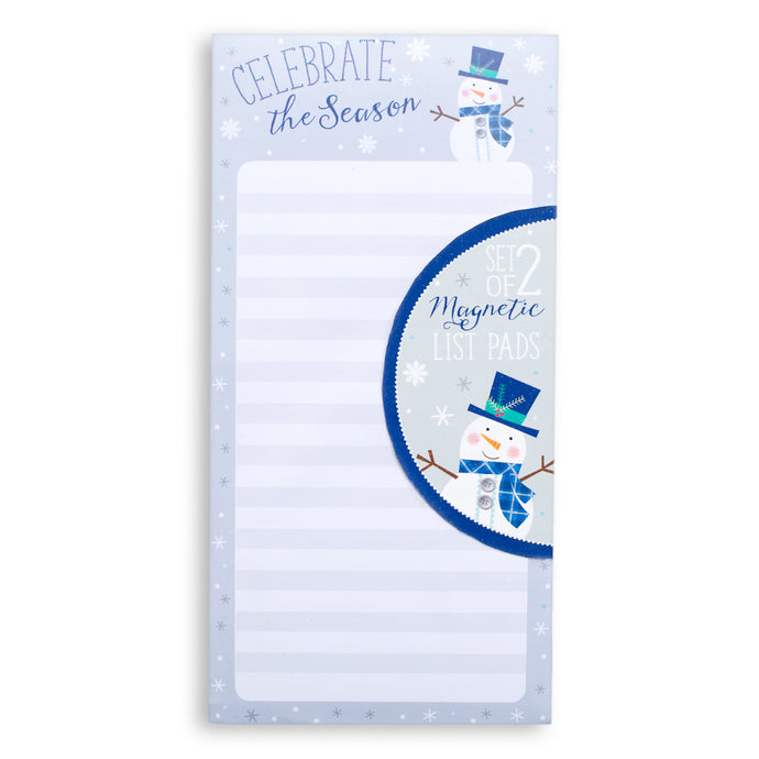 Snow Days Set of 2 Shopping List Pads