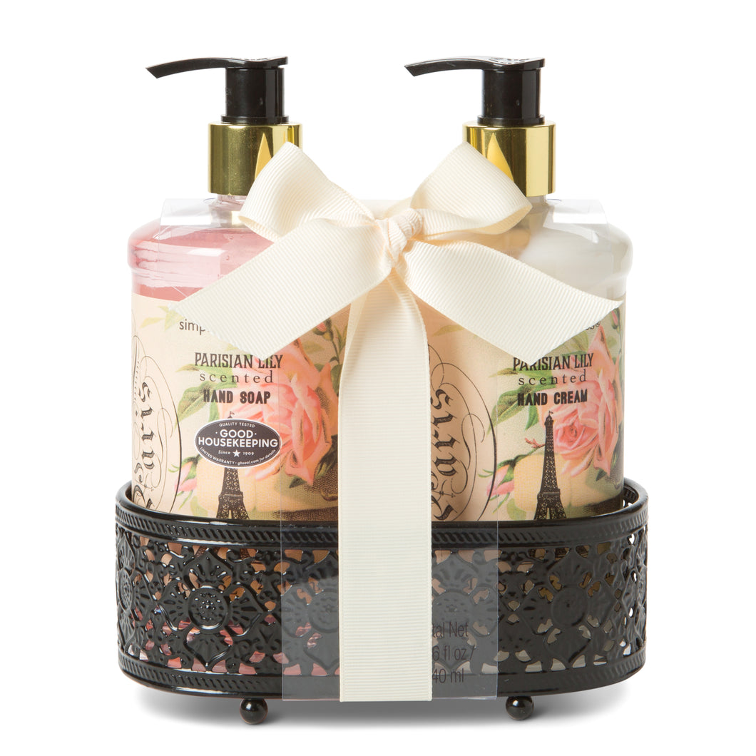 Soap & Lotion Caddy - Parisian Lily Scented