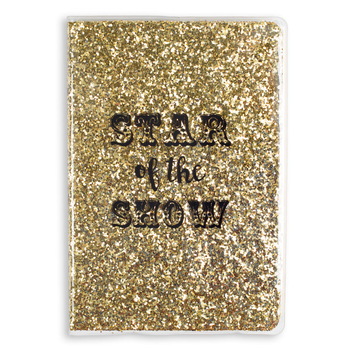 Star of the Show Glitter Bound Journal