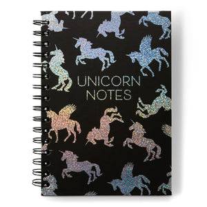 Spiral Notebook - Unicorn Notes