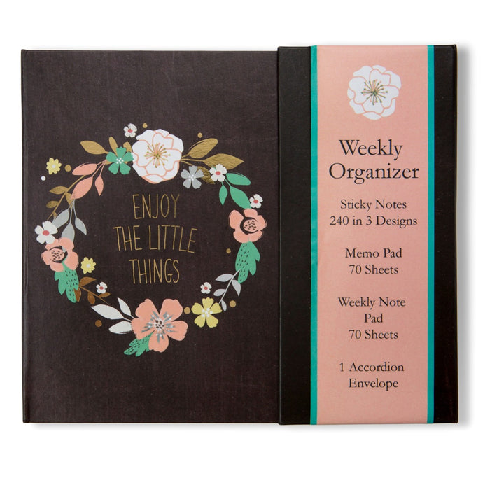 Enjoy The Little Things Weekly Organizer - Cover