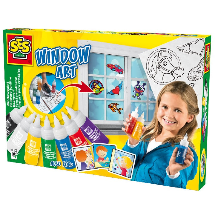 SES: Window painting set