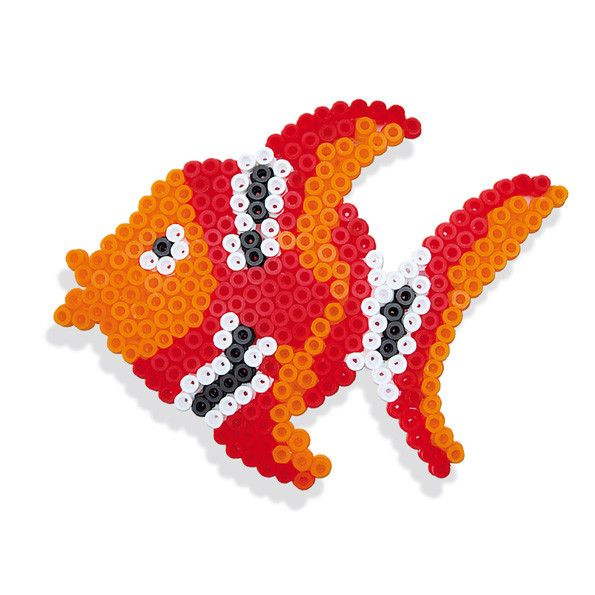 SES: Iron on beads fish