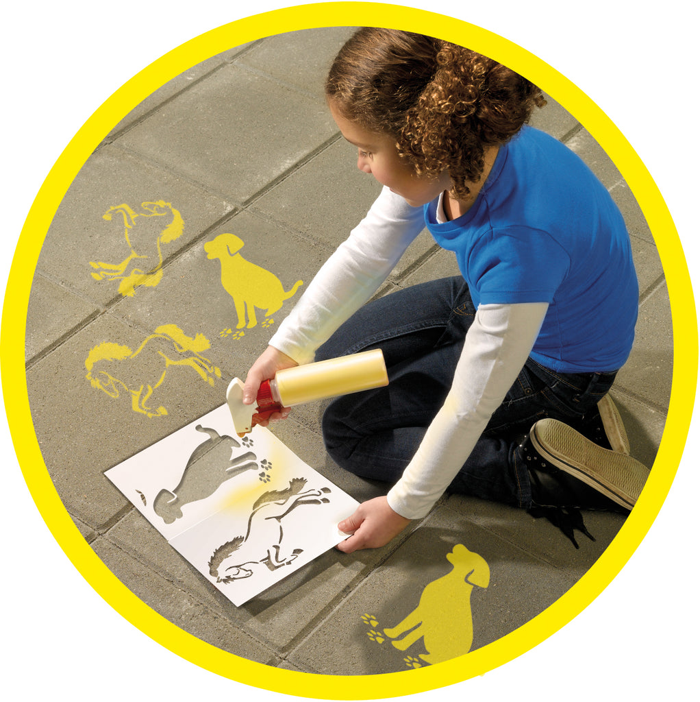 SES: Spray chalk Yellow