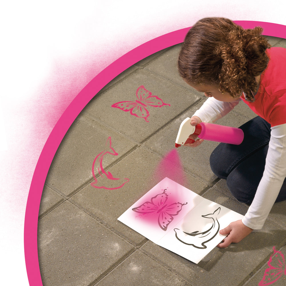SES: Spray chalk Pink