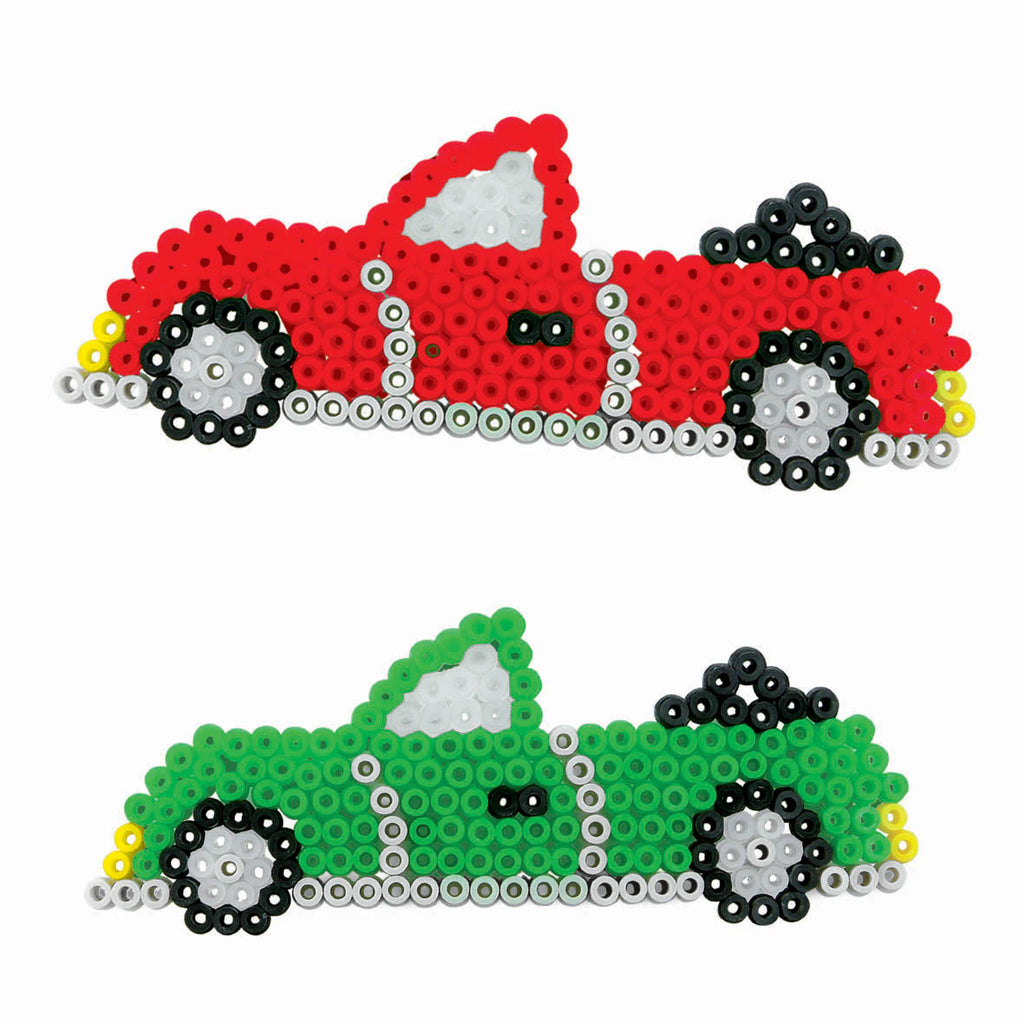 SES: Iron on beads cars
