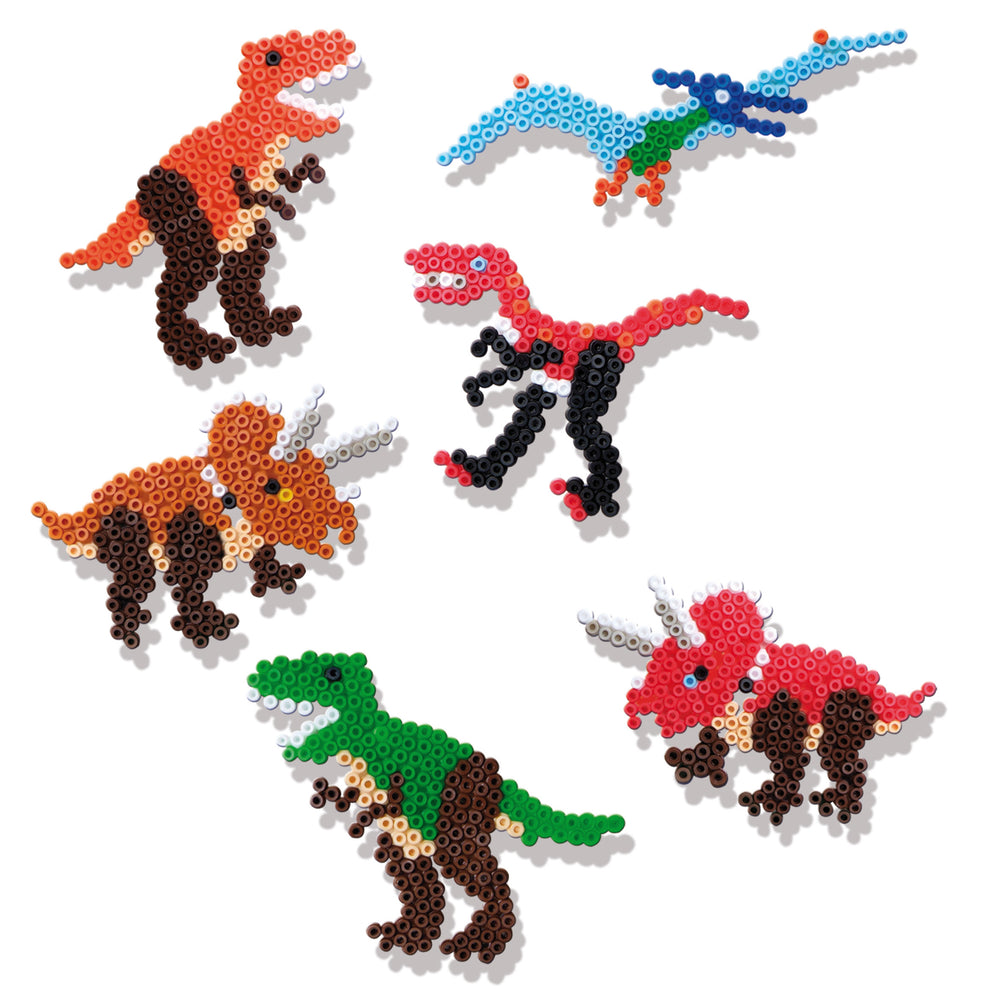 SES: Iron on beads dinosaurs