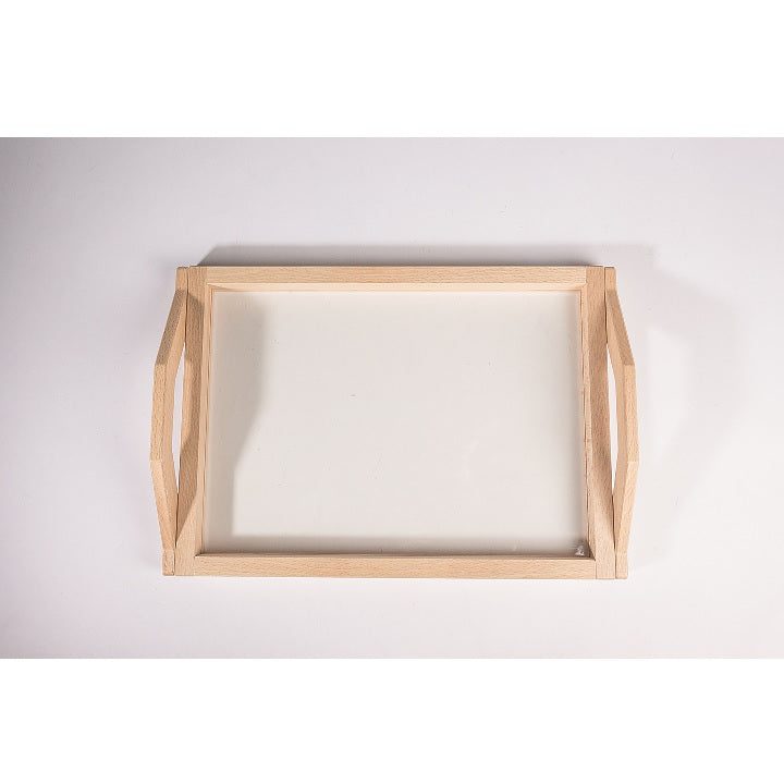 Dusyma: Tray with Transparent Base