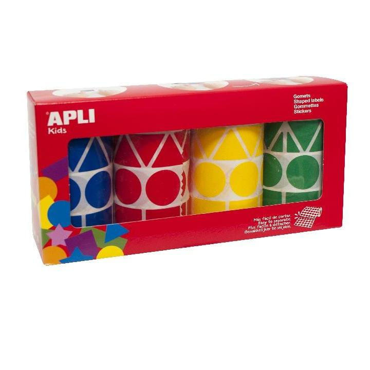 Apli: Pack 4R.BL./RED/YE./GR. 5428U