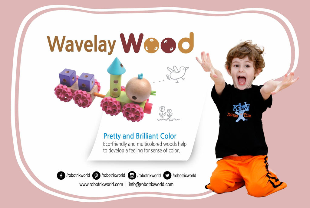 Wavelay: 100B Wavelay Wood Set