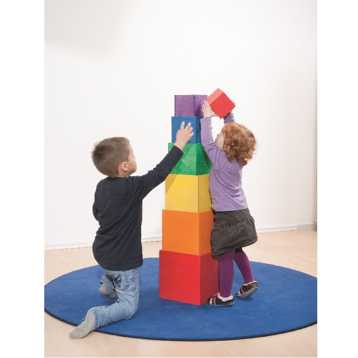 Dusyma: Play and Stacking Cubes