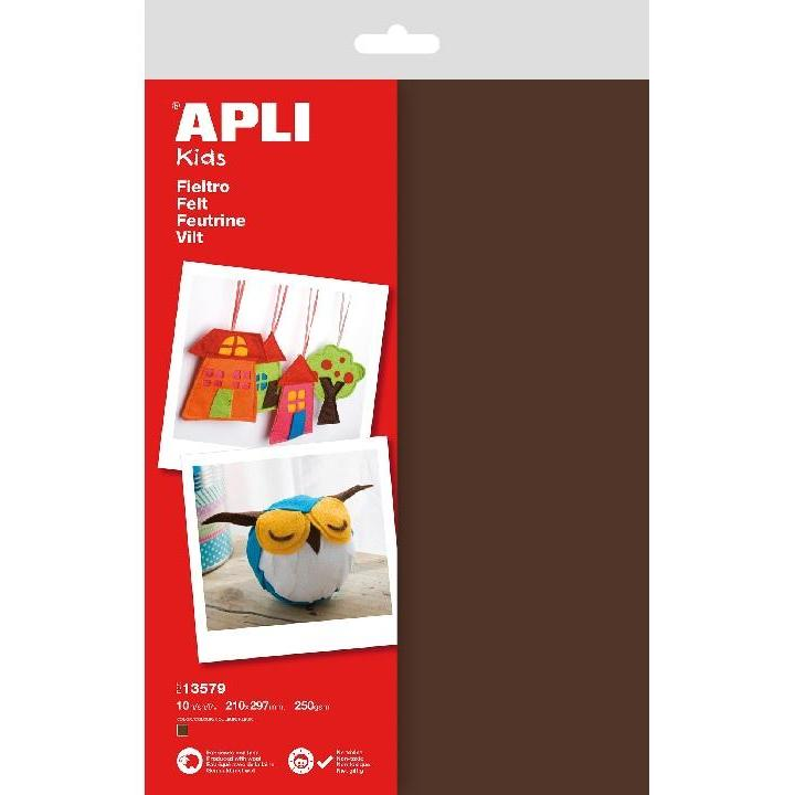 Apli: B.Felt Brown 10 SH