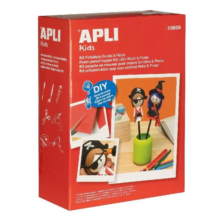 Apli: Foam Doll Kit Witch Pirate