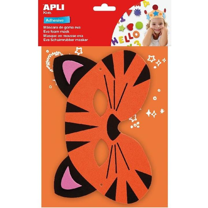 Apli: B.Tiger Eva Foam Mask 1PC