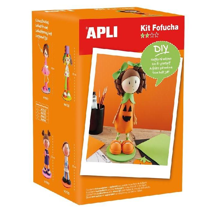 Apli: Foam Doll Kit Pumpkin