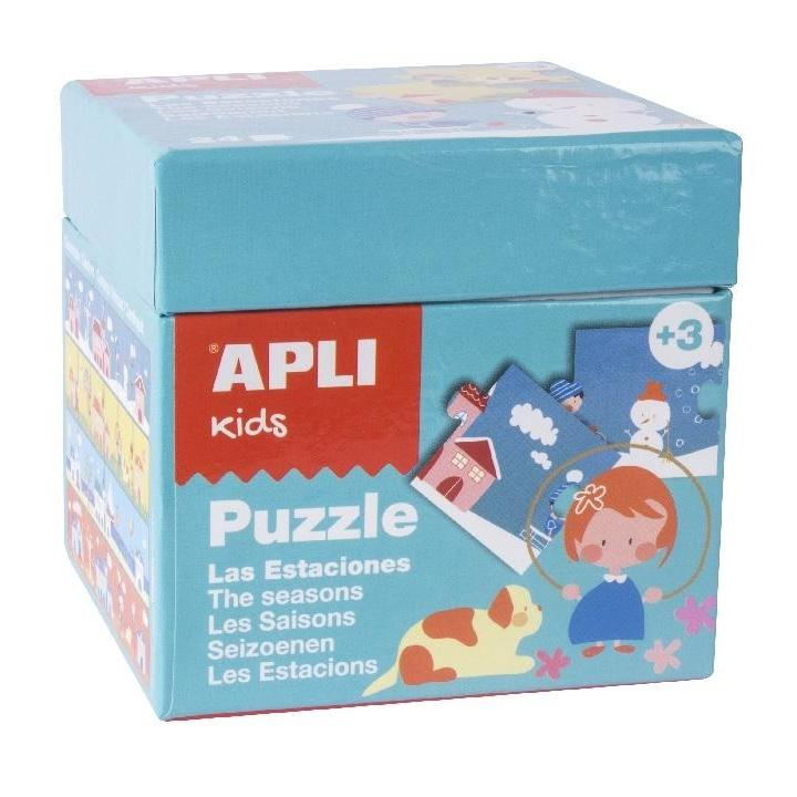 Apli: Puzzle The Seasons Blue Box