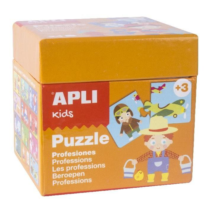 Apli: Puzzle Professions Orange Box