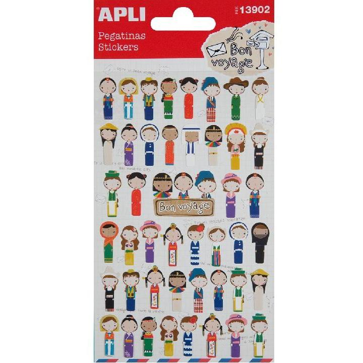 Apli: B.Stickers Ethnic Groups 1SH