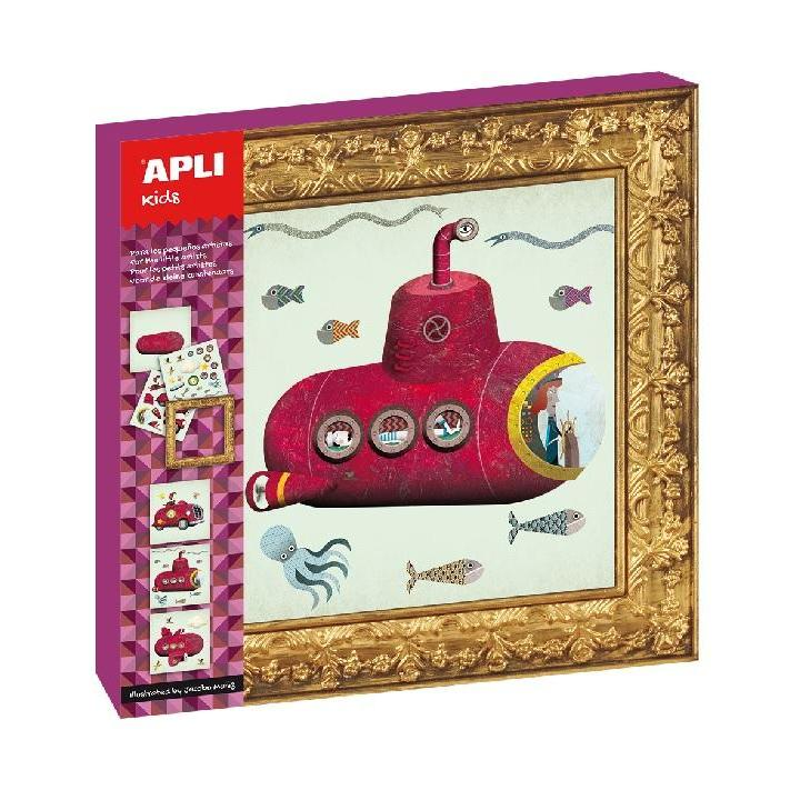 Apli: B.Stickers Game Submar Car Plane 3PCS