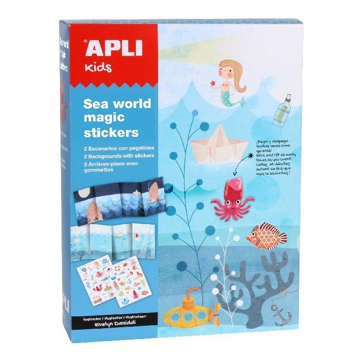 Apli: Sea World Magic Stickers