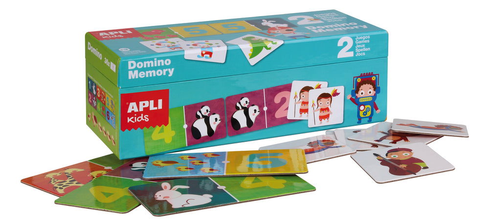 Apli: B. Duo Domino + Memory Game