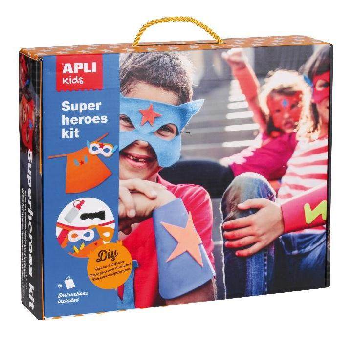 Apli: Case Creative Kit. Super Heroes Costumes