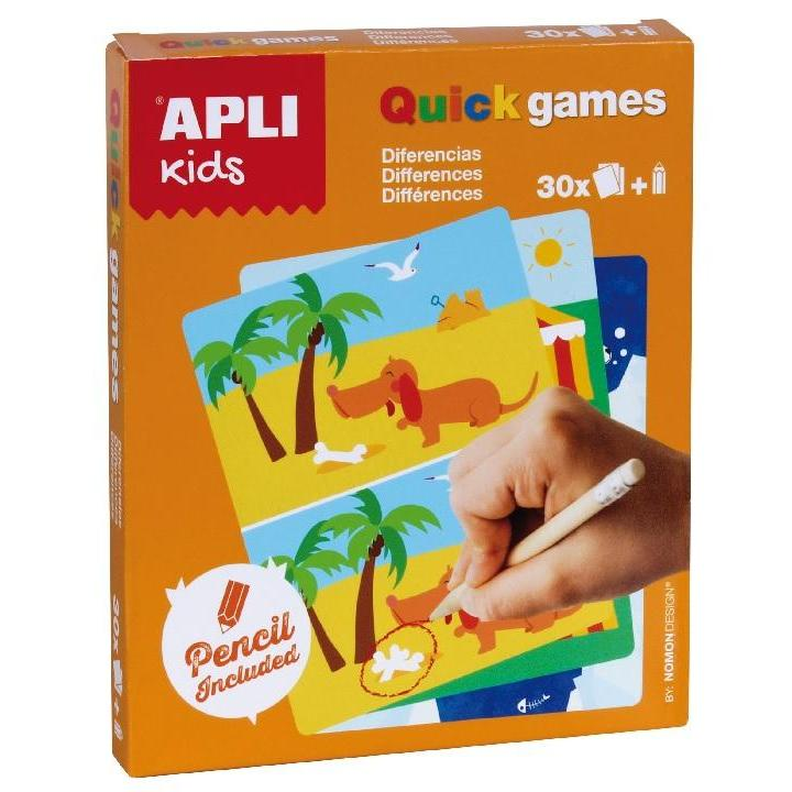Apli: Quick Games Differences