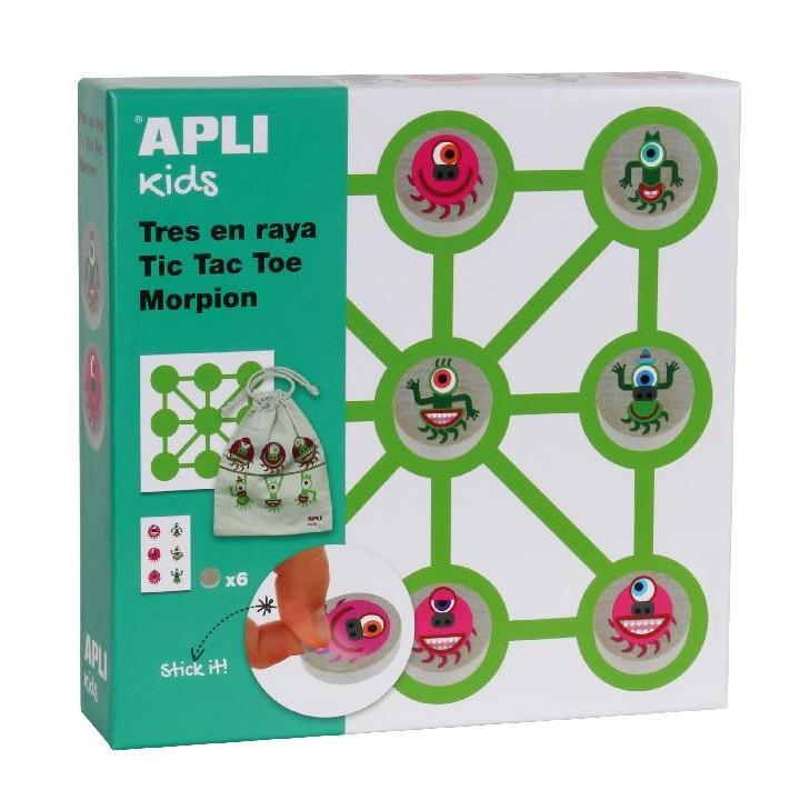 Apli: B.Illustrated Tick Tack Toe Game