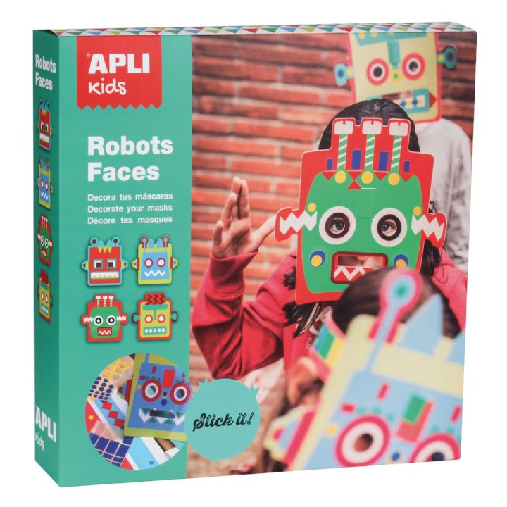 APLI: B. MASK TO DECORATE WITH LABLS 4U