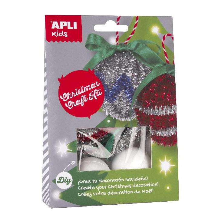 Apli: B.Craft Kit Christmas Balls