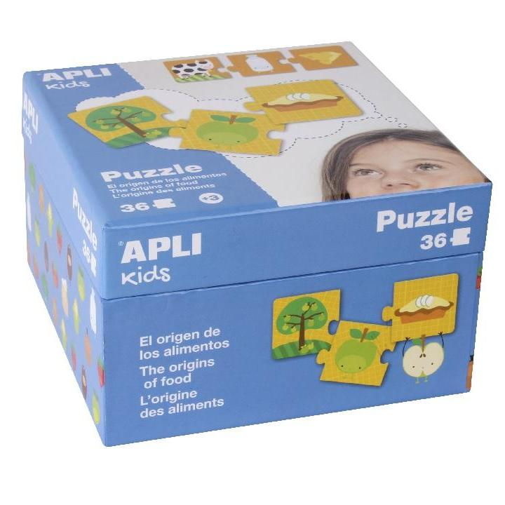Apli: B. Puzzle The Origin of Food 36 U
