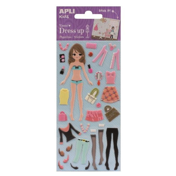 Apli: B.Dress Up Stick W/Scenario Emma 1sh