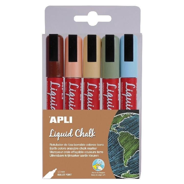 Apli: B.Liquid Chalk Bullet P. 5,5mm Earthy 5U