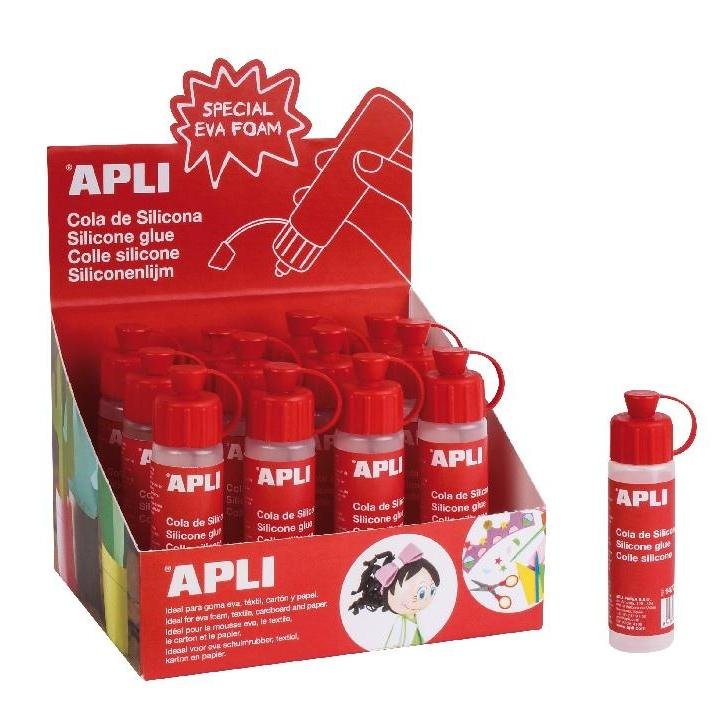 Apli: Silicone Glue  25ml x 12 pcs