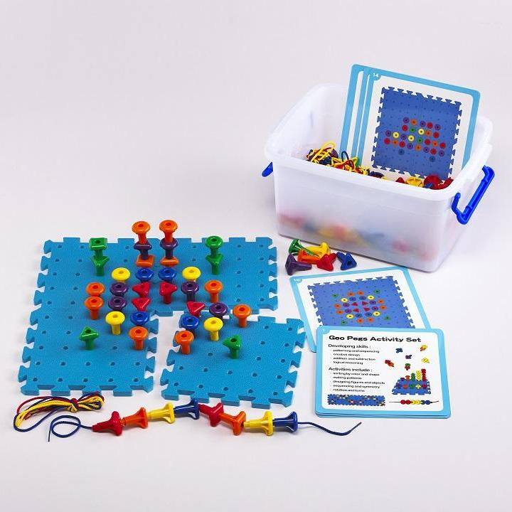 EDX: GEO PEGS ACTIVITY SET (144)