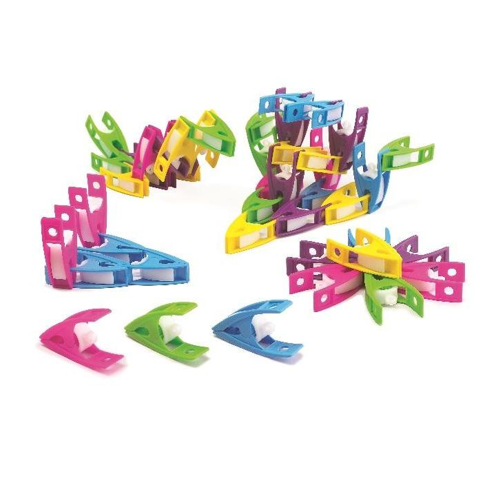 edx: Small Clips, 5 Colrs, 30pcs, Polybag