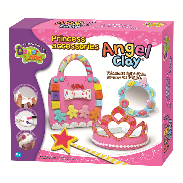 Donerland: Angel Clay Princess Play Kit